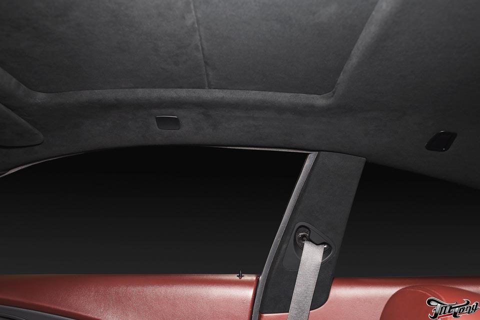 Как перетянуть потолок автомобиля своими руками 53